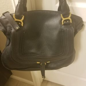 Chloe Large Marcie, Excellent Condition,  Black